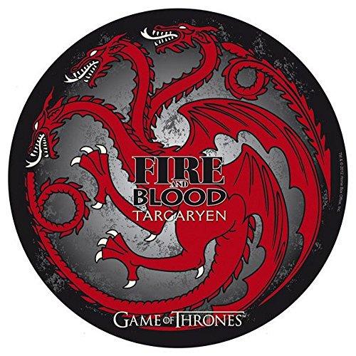 Game of Thrones, tv-serie, muismat, muismat, Targaryen, 21,5 cm