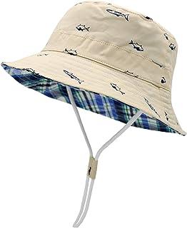 Sarfel Baby Sun Hat Toddler Summer Hats UPF 50+ Baby Bucket Hat Kids Beach Hats for Baby Boys