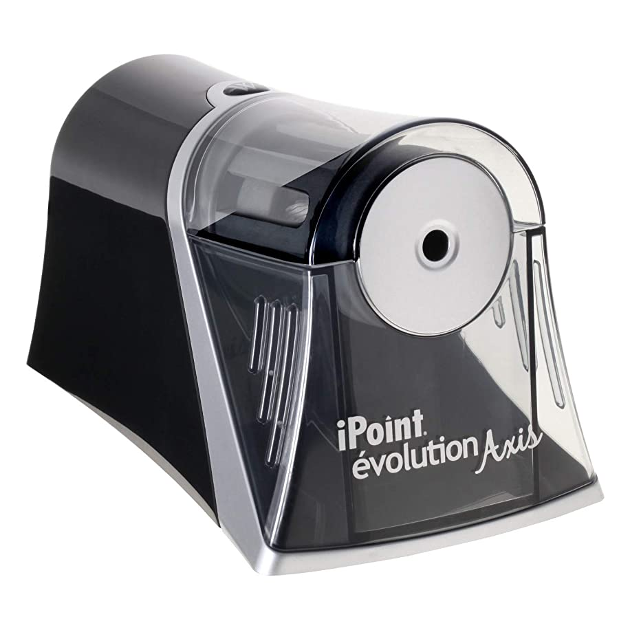 Electric Pencil Sharpener Black - Westcott iPoint Evolution Axis Black