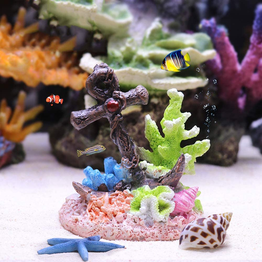 Max 88% Sales of SALE items from new works OFF Danmu 1Pc of Polyresin Coral Ornaments Decor for Aquarium