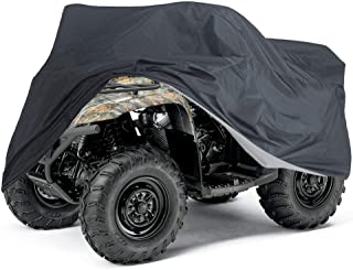 Tokept ATV Cover,Heavy Duty Waterproof 103 Inches,All Season XXXL size Black Waterproof Outdoor UV Protection for Kawasaki Yamaha Suzuki Honda Polarisand more