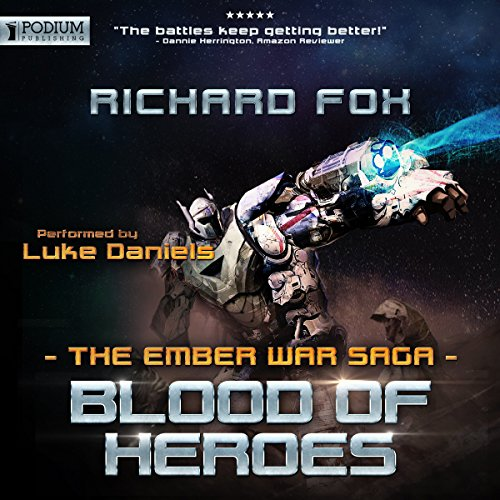 Blood of Heroes audiobook cover art