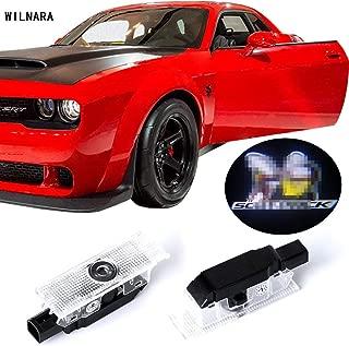 Dodge Challenger Projector Ghost Shadow Courtesy Light Welcome Light for Dodge Challenger Scat Pack RT SRT SXT GT SE-No16