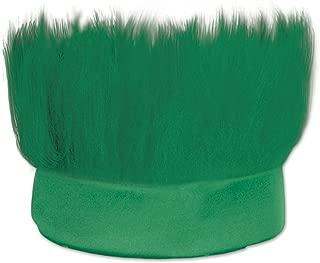 Beistle 60277-G Hairy Headband, One Size, Green