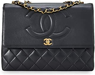 CHANEL Black Lambskin Timeless CC Flap Maxi (Pre-Owned)