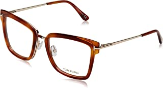 b7975449e2 Tom Ford FT5507 Monturas de Gafas, Marrón (Avana Bionda), 53.0 Unisex Adulto