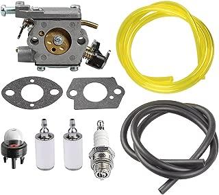 HIPA 309362003 Carburetor + Primer Bulb Fuel Line Filter for Homelite Chainsaw UT10540 UT10542 UT10544 UT10546 UT10548 UT10560 UT10566 UT10568 UT10580 UT10582 UT10584 UT10586 UT10588