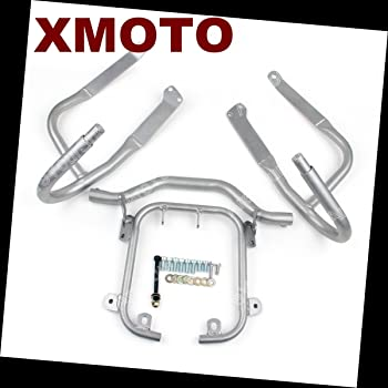 MotorFansClub Crash Bars Bumpers Guards Protectors Fit For Compatible With BMW R1200RT 2005 06 07 08 09 10 11 12 2013
