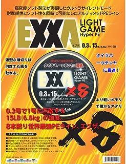 Gear-Lab(ギアラボ) PEライン EXXA 200m 0.3号 15LB(6.8kg) 8本 5色