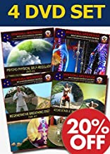 RUSSIAN SYSTEMA SPETSNAZ SELF DEVELOPMENT DVDS - Martial Arts Instructional Video Course to develop Internal Energy for Hand to Hand Combat Mastery, 4 DVD set in English.