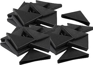 YouU Corner Protectors- 20 Pcs Shape Triple-cornered Glass Table Corner Protector Cushion 10mm x 75mm