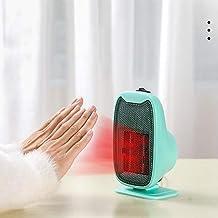Calefactor, Mini Calefactor,Calefactor Eléctrico Portátil Calentador De Aire Caliente Termoventiladores De PTC para Hogar Y Oficina Protección del Sobrecalentamient