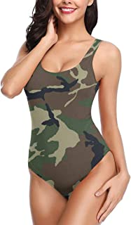 Women's Sexy Backless One Piece Swimsuit Autism Awareness Special Love Black Swimwear for Women