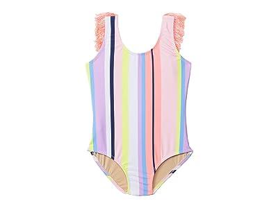 shade critters Fringe Back One-Piece Summer Stripe (Toddler) (Multi) Girl