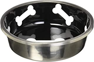 Loving Pets Robusto Bowl for Dogs, Small, Midnight