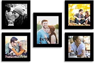 Art Street - Home lit Set of 5 Photo Frame - Size (10x8, 8x8)