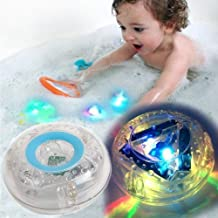 MorganProducts Light -up Toy Waterproof for Kids Floating Safe for Baby- Boys and Girls Toddler Toys- Prime Water Gift Boat Pool Fun.
