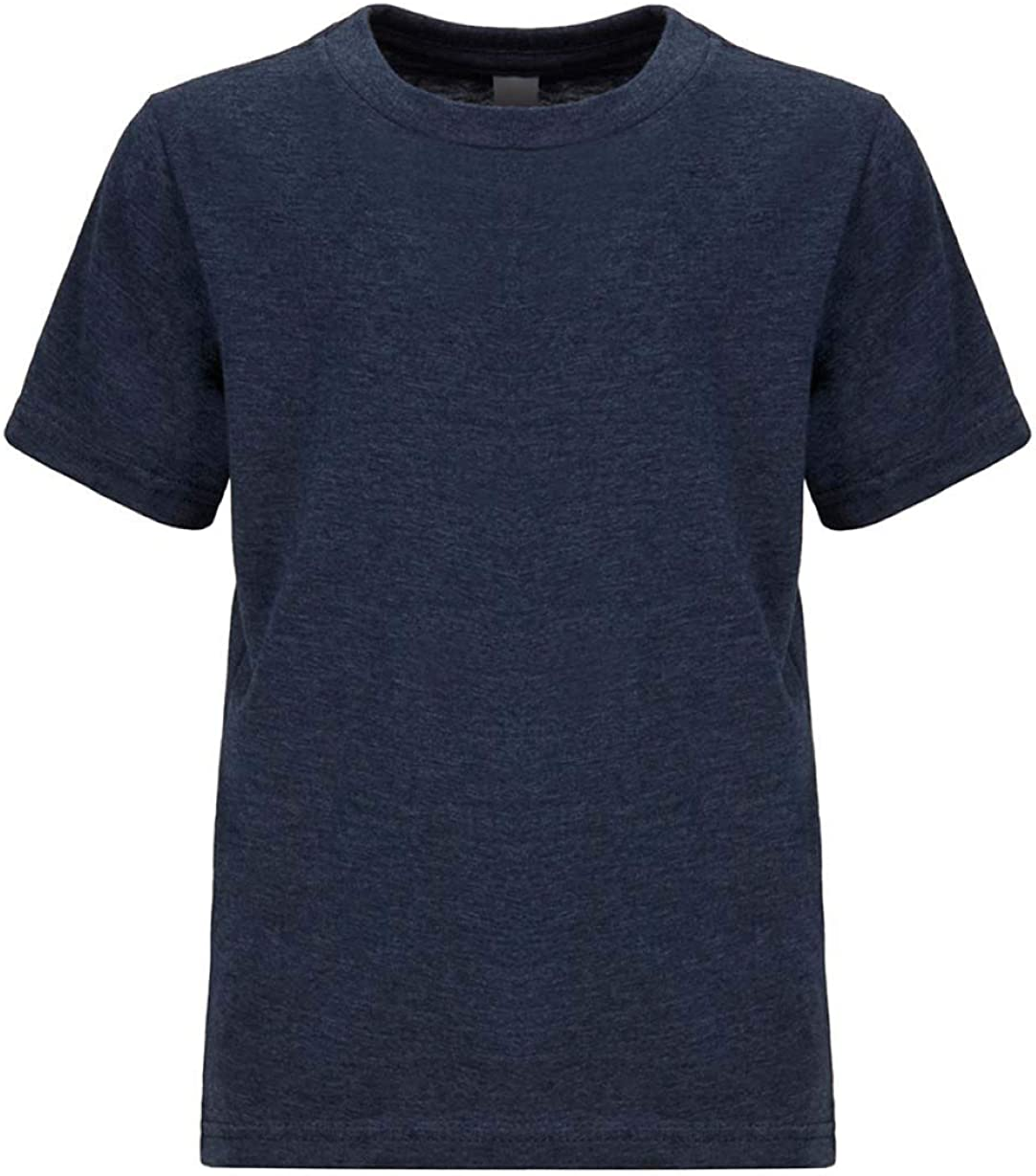 Next Level Kids CVC Crew Neck T-Shirt Midnight Navy XS