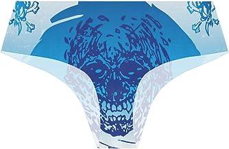 FANTAZIO Cool Skull Damesslipje Comfort Ultra-Zach...
