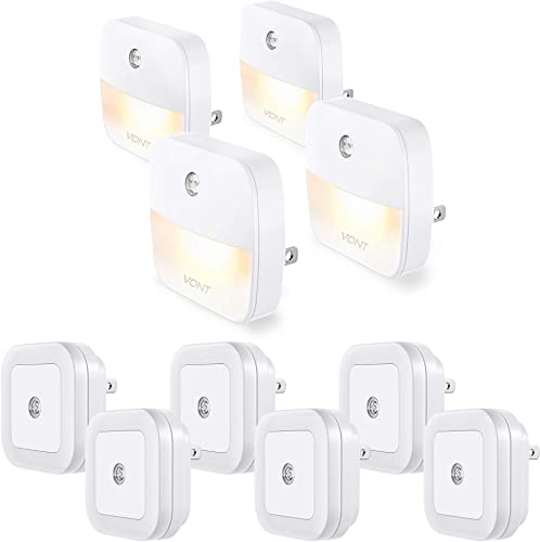 new arrival Vont 6-Pack Night Lights + 4-Pack Night Lights discount Bundle - outlet sale Smart, Safe, Energy Efficient Lighting Pack for Every Home - Automatic Dusk-to-Dawn Night Lights for Stairs, Hallway, Corners, Kitchen, Closet online
