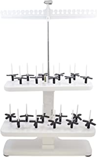 Embroidex - 20 Spool Thread Stand for All Home Embroidery Machines Brother Babylock Janome Bernina Pfaff etc.