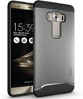 TUDIA ZenFone 3 Deluxe ZS570KL Case, Slim-Fit Merge Dual Layer Protective Case for ASUS ZenFone 3 Deluxe (ZS570KL) (Metallic Slate)