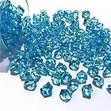 150 stücke 11 * 14 MM Kristall Acryl Steine Kiesel Ice Rocks Handwerk Konfetti Hochzeit Tisch Streut Dekoration Künstliche Ornament, Dunkelblau