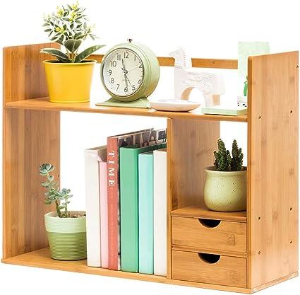 Librerías Estante para Libros Simple Mesa pequeña estantería ...