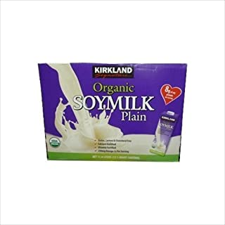 KIRKLAND カークランド オリジナル プレーン ソイミルク (有機調整豆乳) 946ml×12本
