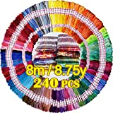 Embroidery Floss 240 skeins 100%...