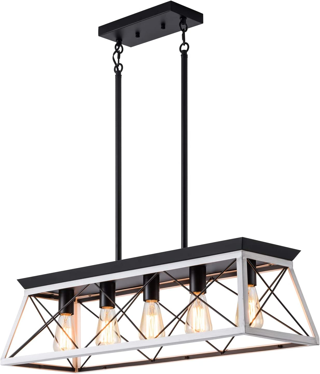 XIPUDA Kitchen Island Lighting Rustic Fixture Room Dining Light New Orleans Mall Max 58% OFF
