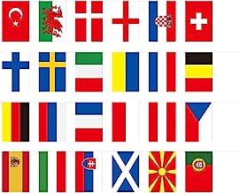Doans 2021 Europeisk kopp fotboll kopp topp 24 flaggor bar lotteri butik fans dekoration hängande flaggor i närheten