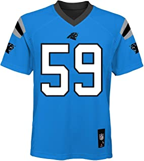 Outerstuff Luke Kuechly Carolina Panthers NFL Youth 8-20 Aqua Light Blue Alternate Mid-Tier Jersey