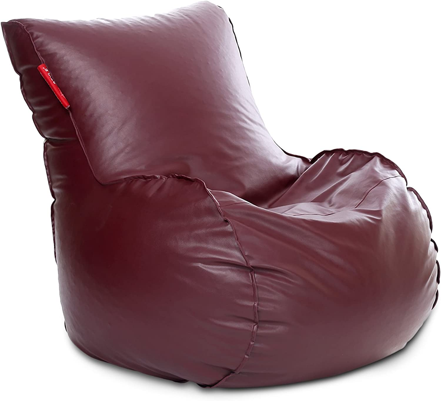 Style Homez Mambo Bean Bag XXXL Size Maroon Cover Only