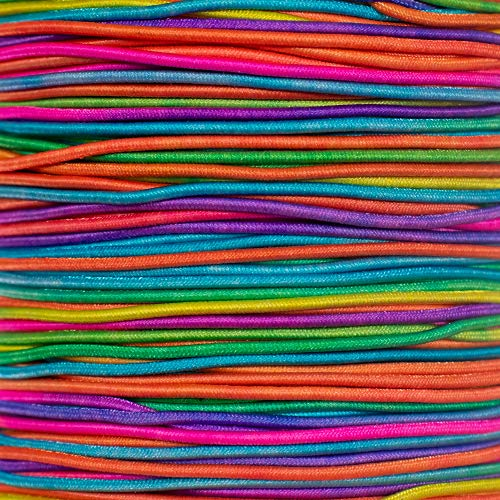 """1/32"""" Elastic Cord Beading Crafting Stretch String with Various Colors"""