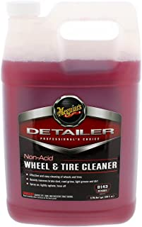 Meguiar's D14301 Non Acid Tire & Wheel Cleaner, 1 Gallon, 128. Fluid_Ounces