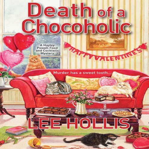 Death of a Chocoholic audiobook cover art