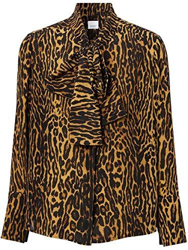 BURBERRY Luxury Fashion Damen 8024256 Braun Seide Bluse | Frühling Sommer 20