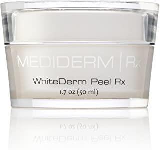 Mediderm Whitederm Peel Rx Cream With 10% Glycolic acid For Uneven Skin Tones, Pigmentations, Skin Renewal, Skin Exfoliation, Oily And Blemished Skin. - coolthings.us