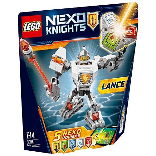Nexo Knights - Lance con Armadura de Combate (Lego 70366)