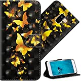 COTDINFOR Samsung Galaxy A8 2018 Case 3D Effect Painted