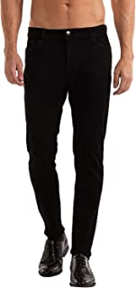 Sponsored Ad - Heyfanee Men's Slim Fit Stretch Jeans Straight Leg Comfort