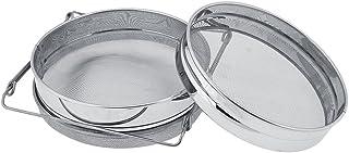 Edelstahl Doppelschichtfilter 201 Material Honigfilter Honigsieb Doppelsieb Honigsieb Imkerbedarf