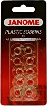 Janome Plastic Bobbins for All Home Use Models