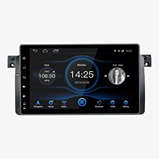$459 » MAG.AL for B M W X5 E39 E53 M5 Android 8.1 Single Din GPS Navigation Head Unit 9 inch IPS Touch Screen Sat Nav Support SWC...