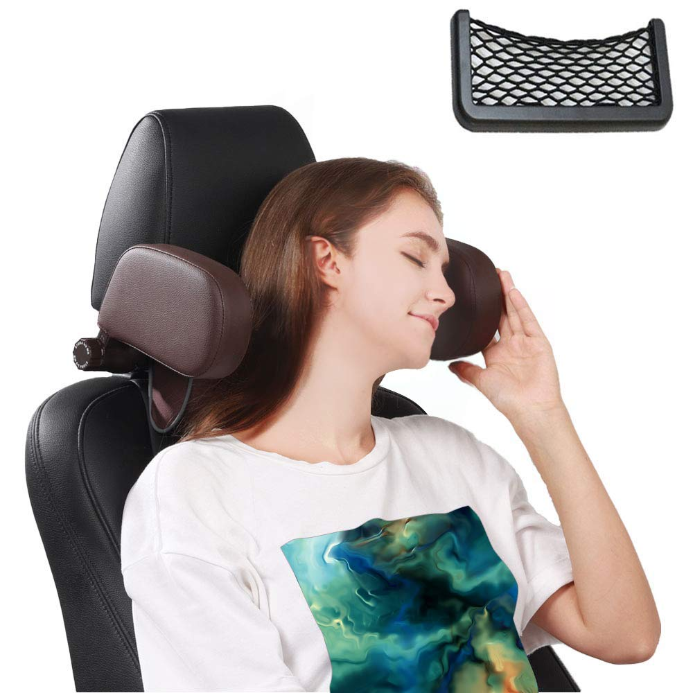 Car Seat Mail order Max 44% OFF Headrest Pillow Road for Pal Passeng and Kids