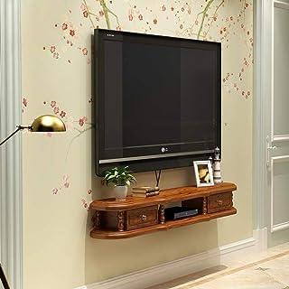 Stand de fleurs Étagère Étagère rangement Étagère murale for meuble de télévision Étagère flottante avec tiroir Étagère de...