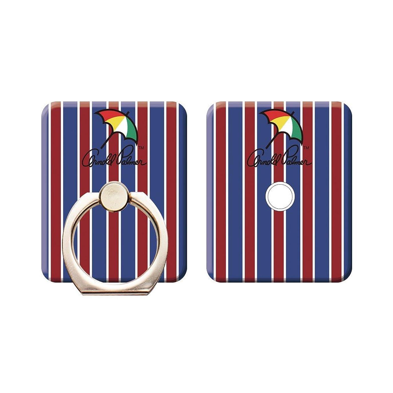 甘くするクルー十年スマートフォンリング [デザイン:Design4/1.ゴールド(艶あり)] アーノルドパーマー arnold palmer スマホリング ホールドリング スタンドリング 落下防止