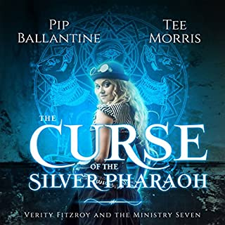 The Curse of the Silver Pharaoh     Verity Fitzroy and the Ministry Seven, Book 1              By:                                                                                                                                 Pip Ballantine,                                                                                        Tee Morris                               Narrated by:                                                                                                                                 Pip Ballantine                      Length: 7 hrs and 32 mins     42 ratings     Overall 4.4