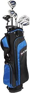 RAM Golf EZ3 Mens Golf Clubs Set with Stand Bag - Graphite/Steel Shafts